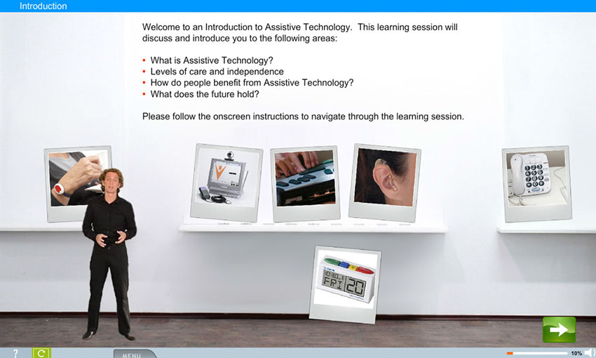 Assistive Technology e-learning course