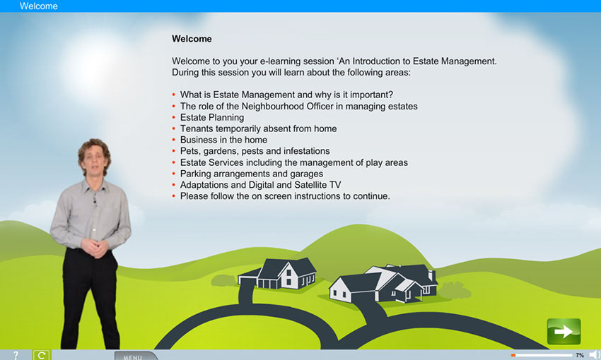 Estate Management e-learning course