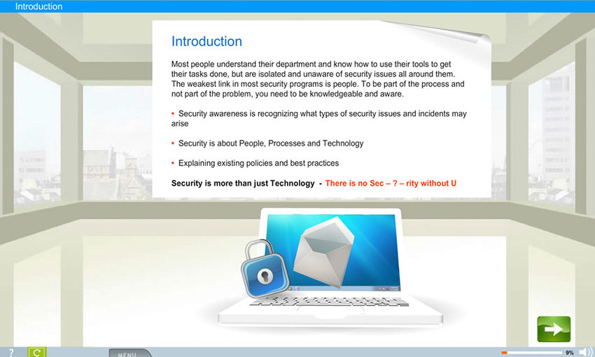 IT Security e-learning course