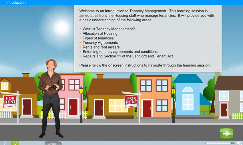 Tenancy Management e-learning course