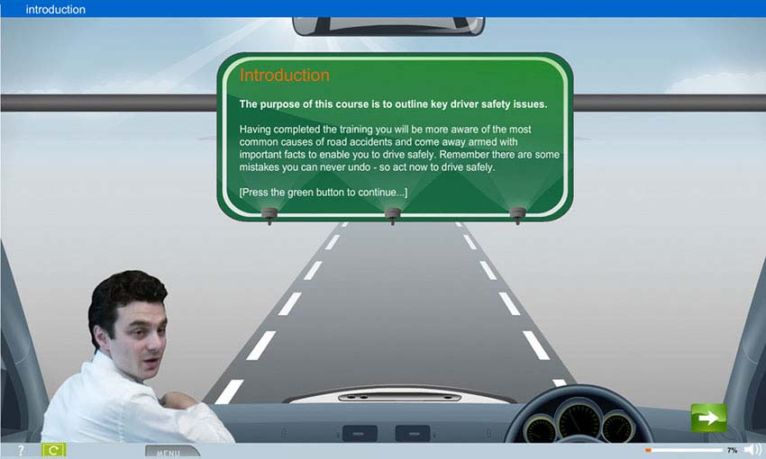 Driver Safety e-learning course