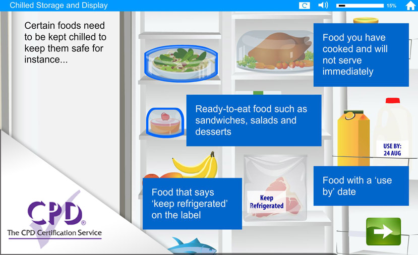 Food Safety - Chilling e-Learning
