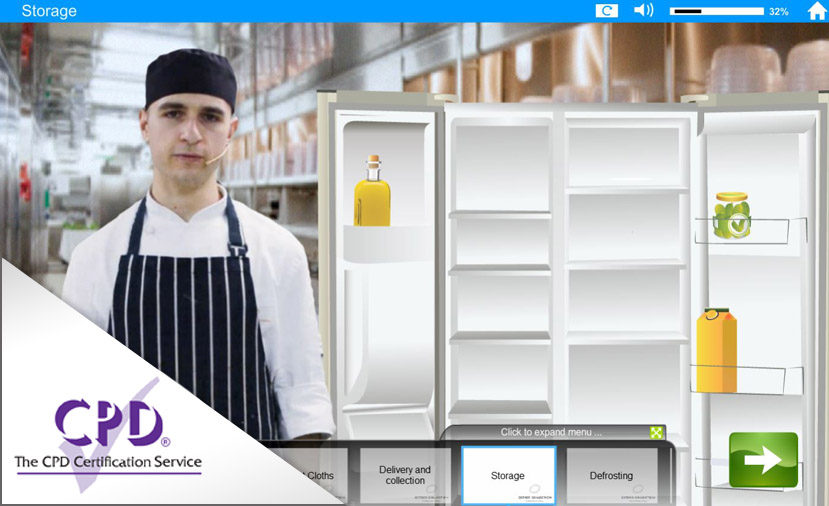 Food Safety - Cross Contamination e-Learning