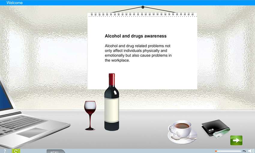 Alcohol and Drugs Awareness e-Learning