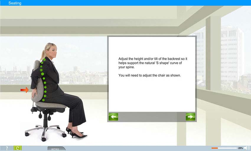 Office Safety / Ergonomics e-Learning